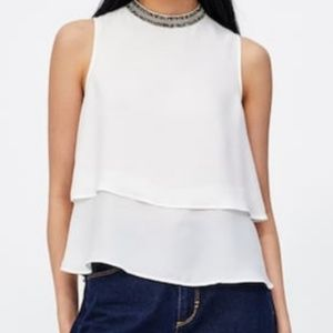 Zara Sleeveless Top! Brand new with tags !!